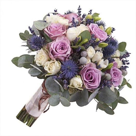 Свадебныйбукет № 7: букеты цветов на заказ Flowwow