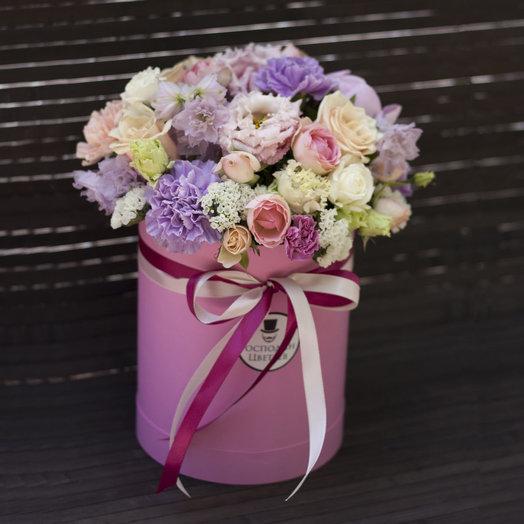 Розовые мечты: букеты цветов на заказ Flowwow
