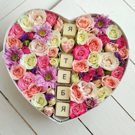 Нежная любовь: букеты цветов на заказ Flowwow