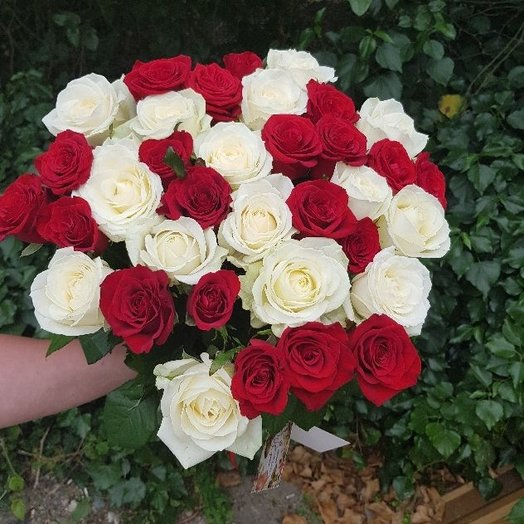 Классический Дуэт: букеты цветов на заказ Flowwow