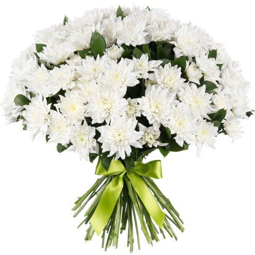 "Букет ""15 хризантем"": букеты цветов на заказ Flowwow"