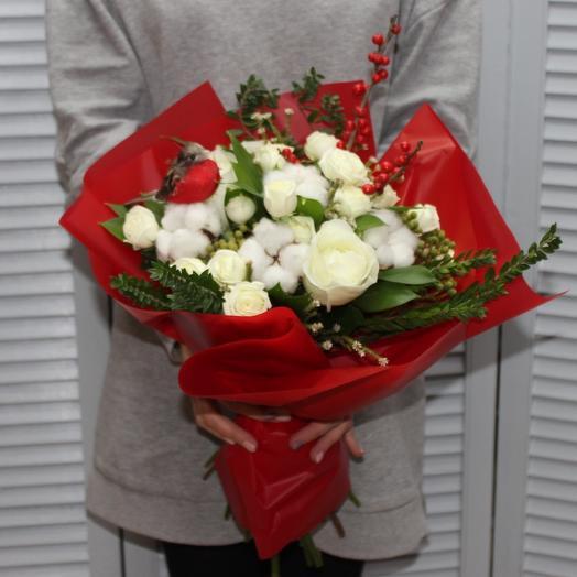 Снежный букет: букеты цветов на заказ Flowwow