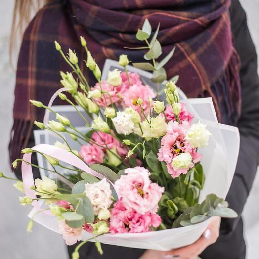 Розовое кружево: букеты цветов на заказ Flowwow