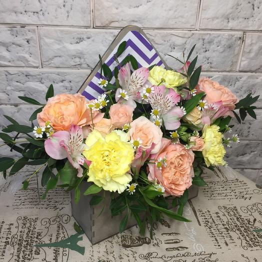 Письмо из Греции: букеты цветов на заказ Flowwow