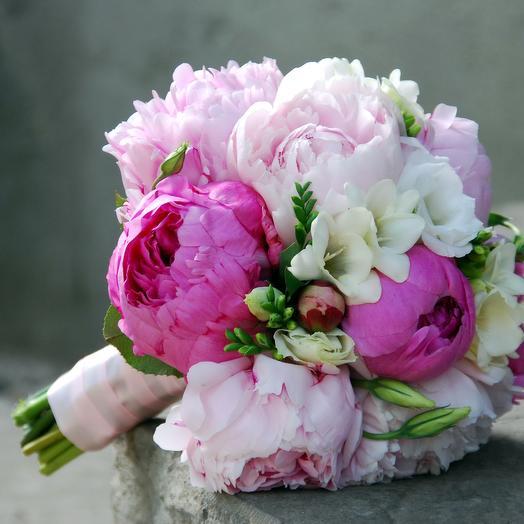 Свадебный букет для невесты: букеты цветов на заказ Flowwow