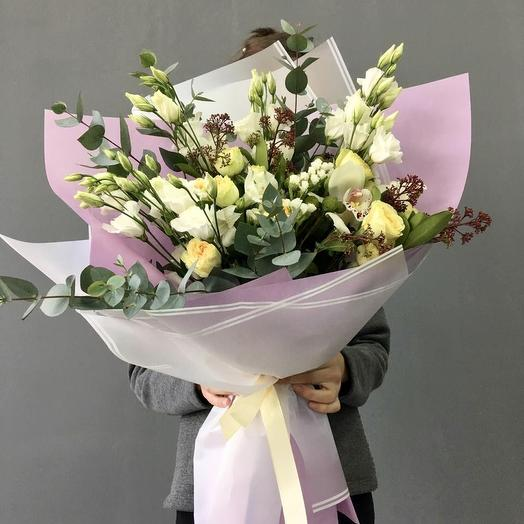 Воздушная зефирка: букеты цветов на заказ Flowwow