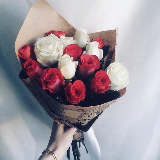 Мысли о любви: букеты цветов на заказ Flowwow