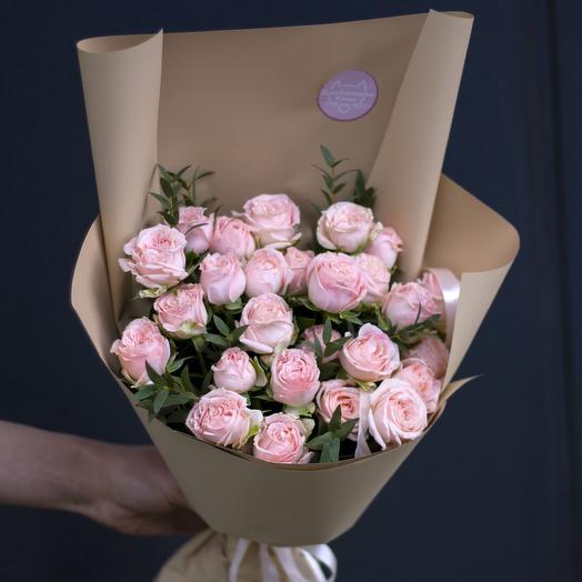 Букет-комплимент: Бомбастик: букеты цветов на заказ Flowwow