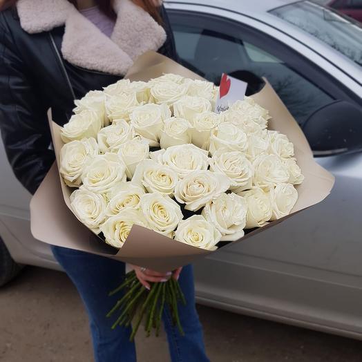 Белое яблоко: букеты цветов на заказ Flowwow