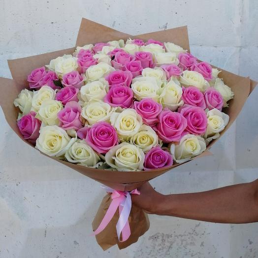Микс (из розы): букеты цветов на заказ Flowwow