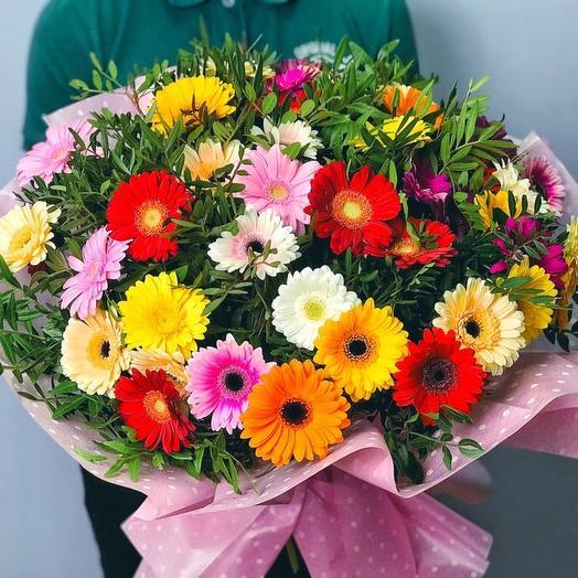 51 гербера Акция: букеты цветов на заказ Flowwow