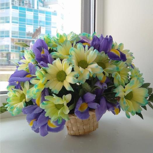 """Корзинка """"Счастье"""": букеты цветов на заказ Flowwow"""