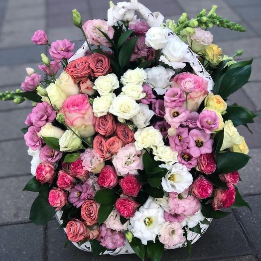 Корзина для любимого учителя 👩🏫: букеты цветов на заказ Flowwow