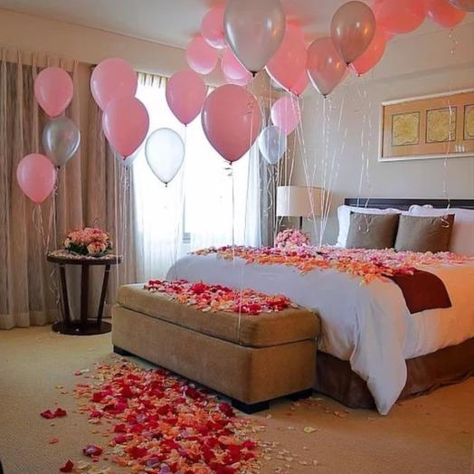 Surprise room decoration: flowers to order Flowwow