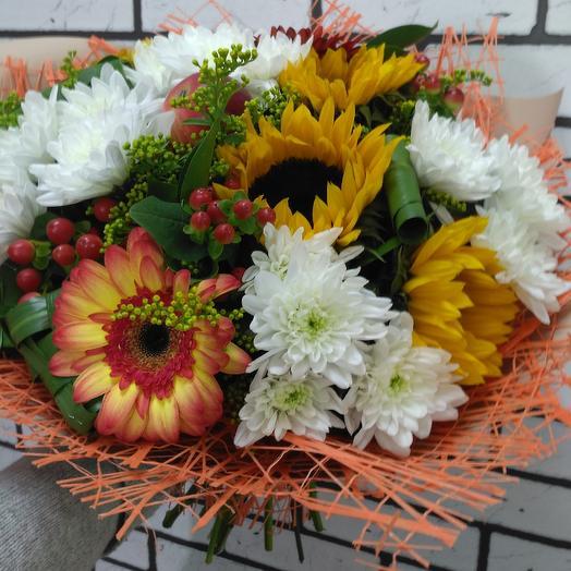 Осенняя рапсодия: букеты цветов на заказ Flowwow