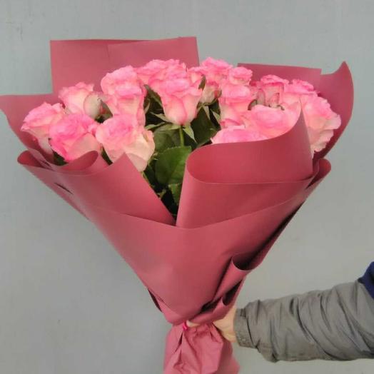 Розовая метель: букеты цветов на заказ Flowwow