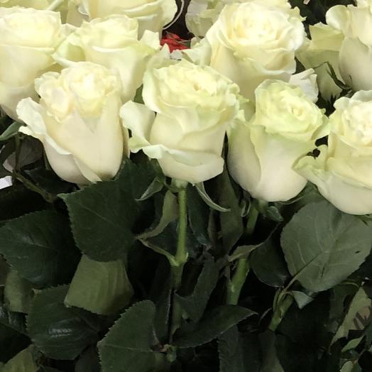 80см роза белая