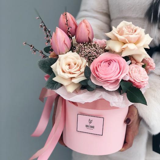 Облачко нежности: букеты цветов на заказ Flowwow