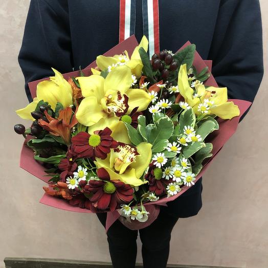Солнце в закате: букеты цветов на заказ Flowwow