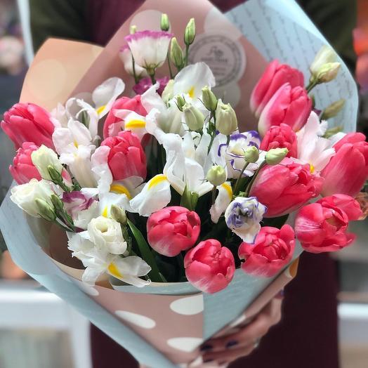 Март: букеты цветов на заказ Flowwow