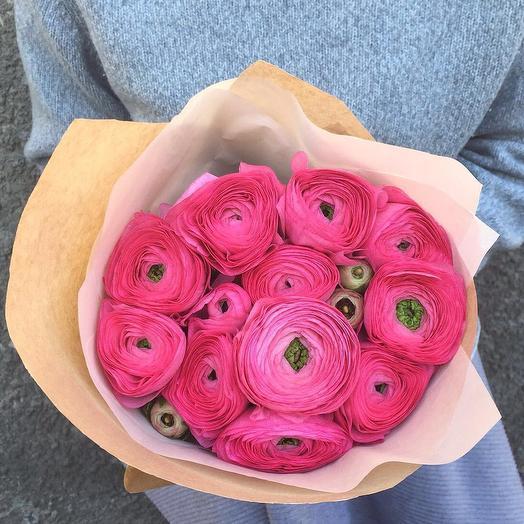 11 Ранункулюсов: букеты цветов на заказ Flowwow