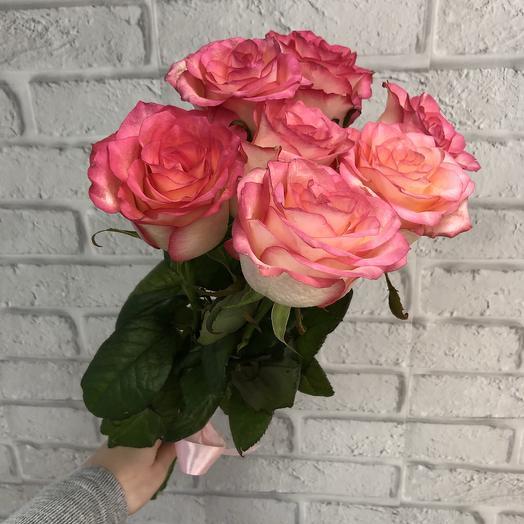 Семь Роз Джумилия: букеты цветов на заказ Flowwow