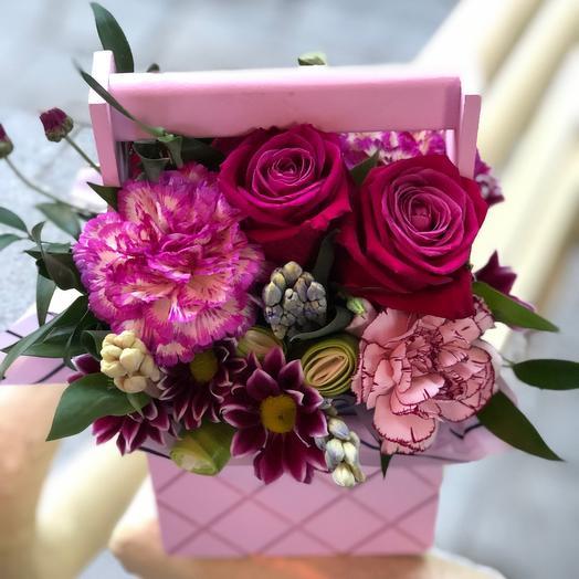 Ящичек: букеты цветов на заказ Flowwow