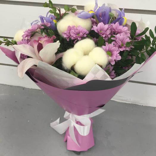 Букет Сердце Океана: букеты цветов на заказ Flowwow