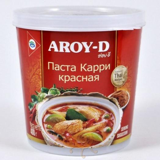 Паста Карри красная Aroy-D, 400г