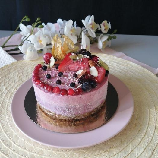 Rawcake брусника-смородина