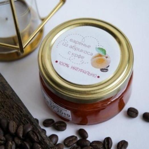 Варенье из абрикоса с кофе