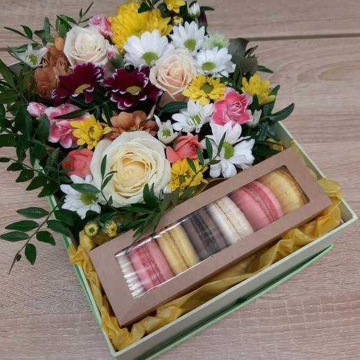 Разноцветье с печеньем