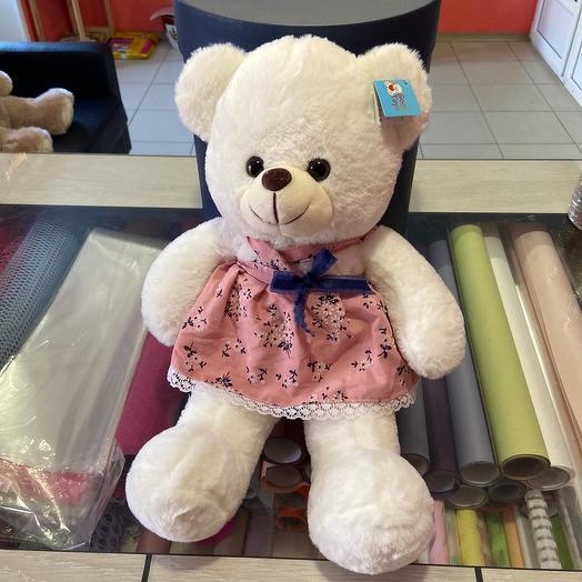 Игрушка медведь в платье