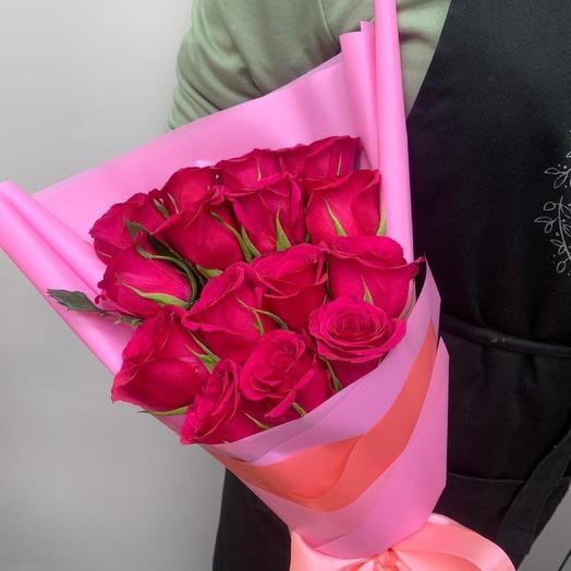 Каскад из роз
