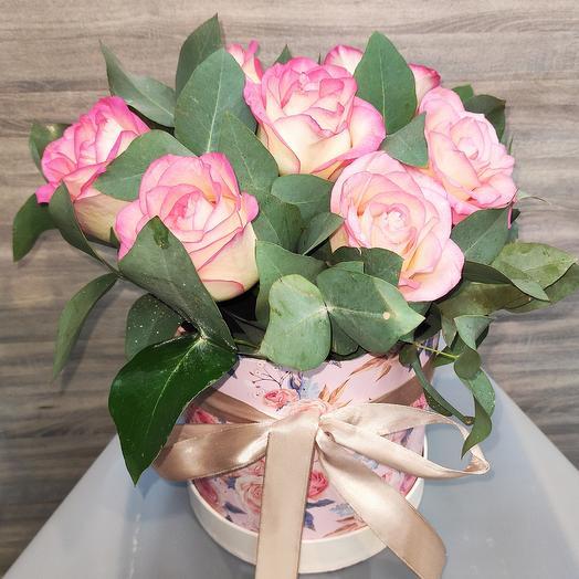✅ Розы в цилиндре-Джумилия
