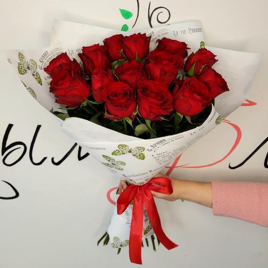 Букет роз ☆ 11