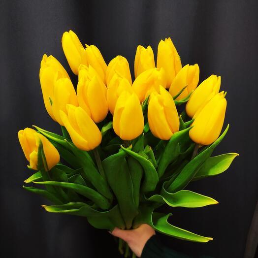 Жаркая Весна. Букет тюльпан 19
