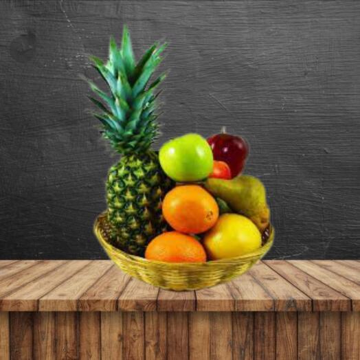 Подарочный витаминный набор из фруктов