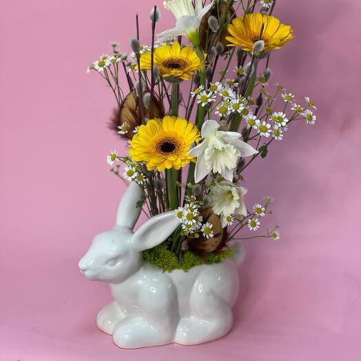Керамика с цветами