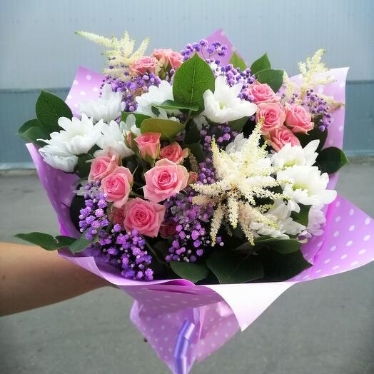 Bouquet is a compliment