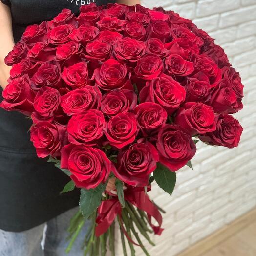 Букет из 51 розы Премиум