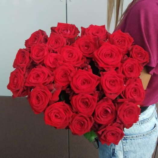 Красная Роза (25шт)