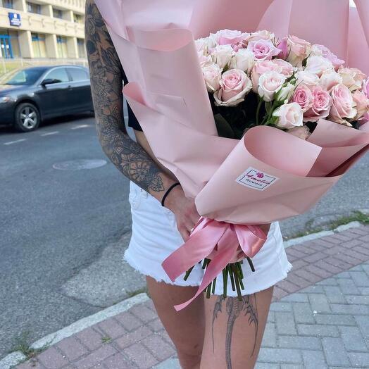 Кустовые розы Majolika 35 шт