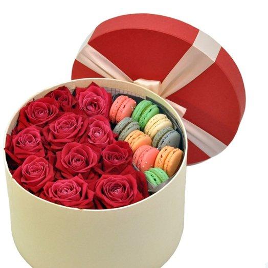 Rose box: букеты цветов на заказ Flowwow