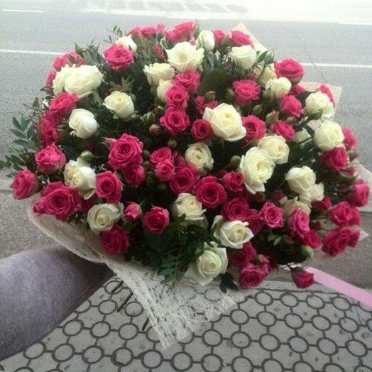 Букет В розовых снах