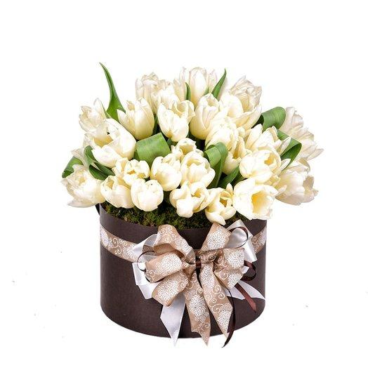 Коробка Весенняя клумба: букеты цветов на заказ Flowwow