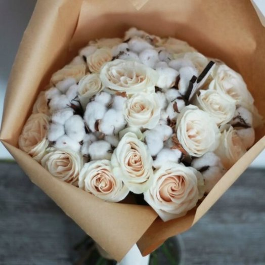 Маршмеллоу: букеты цветов на заказ Flowwow