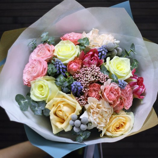 MIX: Свежий и нежный: букеты цветов на заказ Flowwow