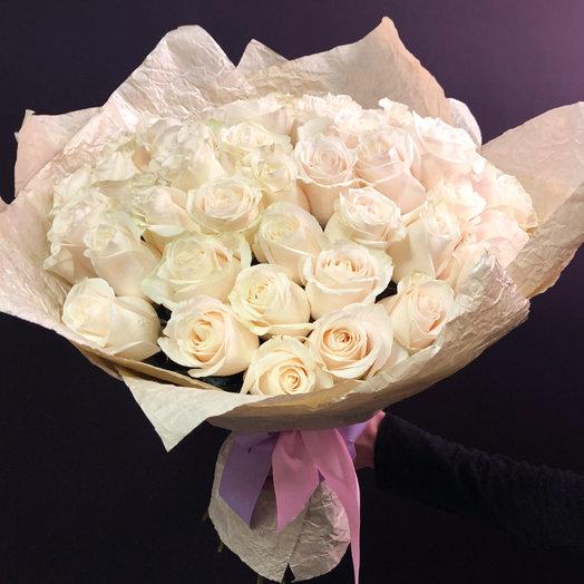 Букет из 35 Эквадорских роз : букеты цветов на заказ Flowwow