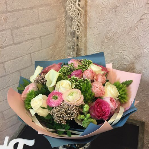 Арт.0730003  Весна: букеты цветов на заказ Flowwow